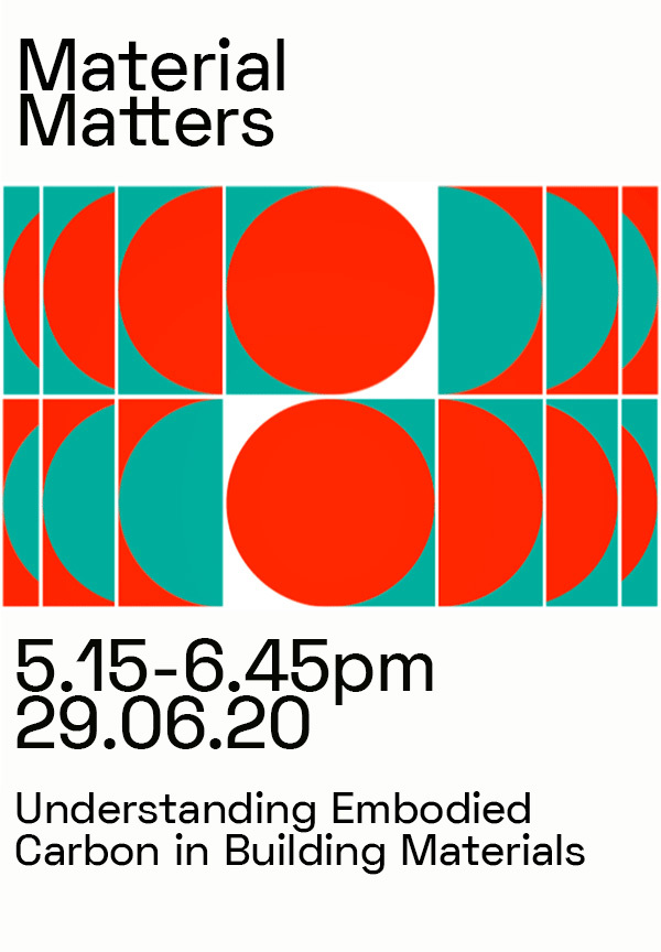 Material Matters Invitation Just Graphic